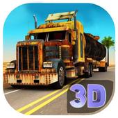 Off Road Truck Transporter Simulator 3D 2017 icon
