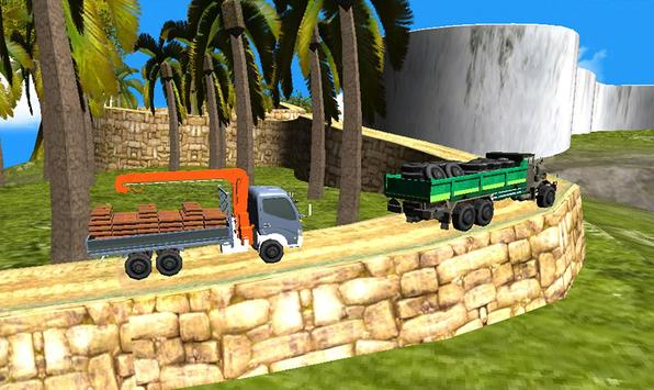 Off Road Truck Transporter Simulator 3D 2017 screenshot 4