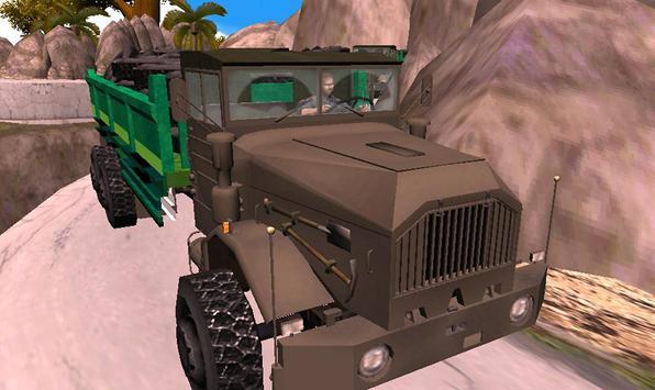 Off Road Truck Transporter Simulator 3D 2017 poster