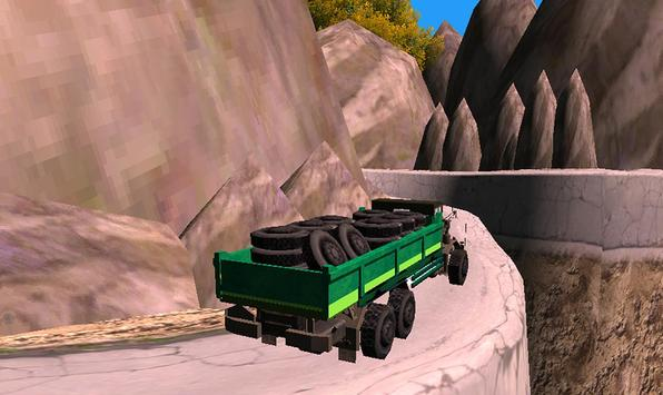 Off Road Truck Transporter Simulator 3D 2017 screenshot 3