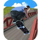 Skateboard games 2017 - Skating Games 3D icon