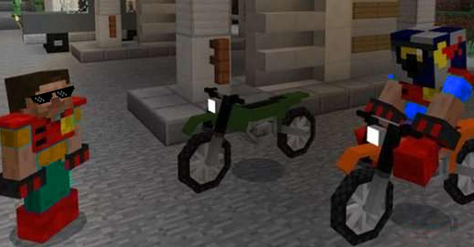 Мод на мотоциклы для майнкрафт 1.710