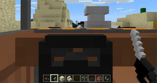 Mod HotCar for MCPE screenshot 2
