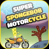 Super SpongeBob Motorcycle icon