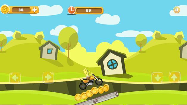 Super SpongeBob Motorcycle screenshot 5