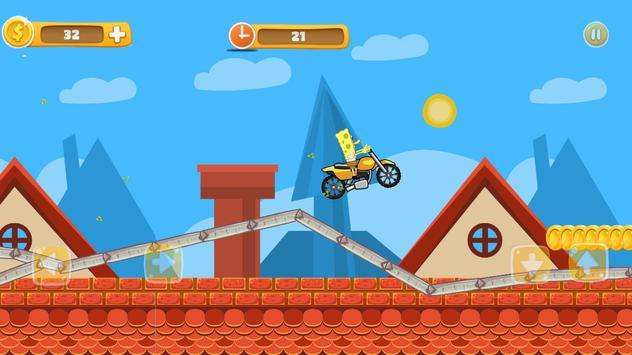 Super SpongeBob Motorcycle screenshot 2