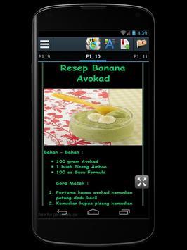 Resep Makanan Bayi Sehat apk screenshot