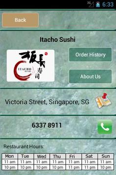 Itacho Sushi screenshot 3