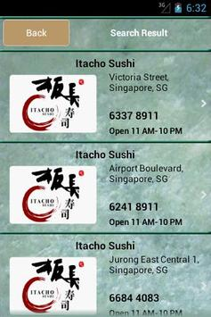 Itacho Sushi screenshot 1