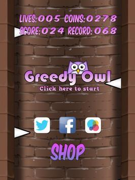 Greedy Owl poster