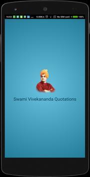 Swami Vivekananda Quotes-Free poster