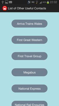 Swansea Student Bus Timetable screenshot 2