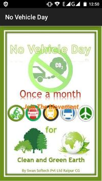No Vehicle Day poster