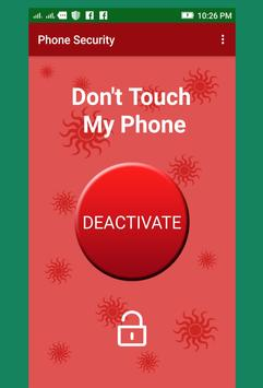 Don't Touch My Phone poster