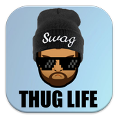 Swag and Thug Life Face icon