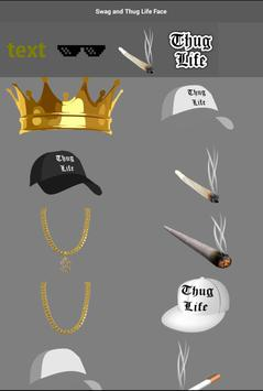 Swag and Thug Life Face screenshot 3