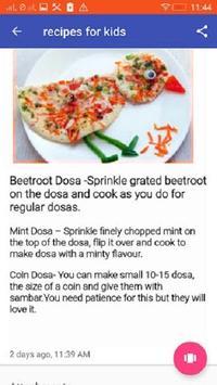 Recipes For Kids apk screenshot