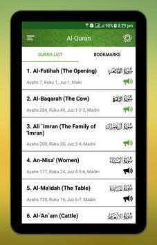 Al Quran Swahili screenshot 4