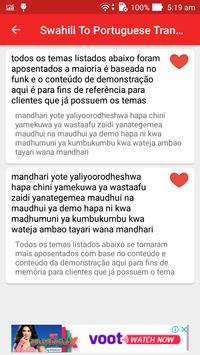 Swahili To Portuguese Translator screenshot 13