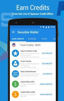Sensible Wallet Make Money NOW apk screenshot
