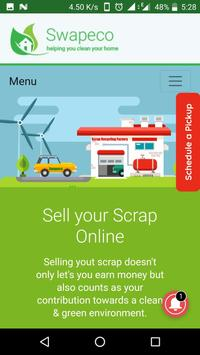 Swapeco - Sell your Scrap Online apk screenshot