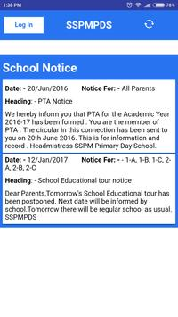 SSPMPDS SSPM Primary DaySchool screenshot 1