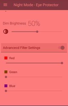 Night Mode + Eye Protector screenshot 5