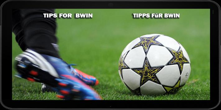 Tips For Bwin poster