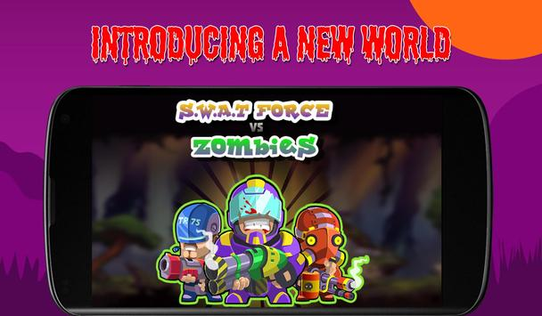SWAT Forces Vs Zombies poster