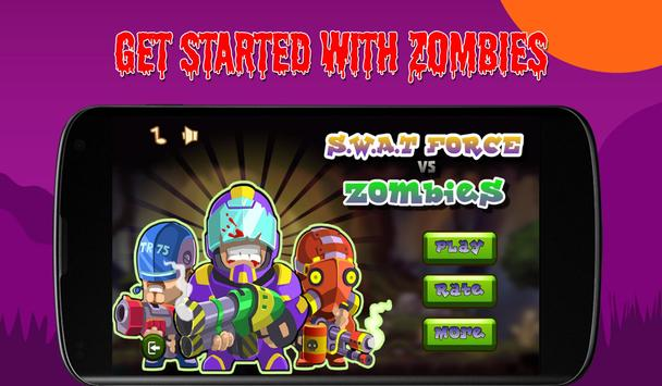 SWAT Forces Vs Zombies apk screenshot