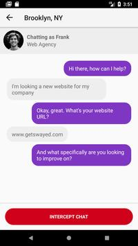 Swayed —Automated live chat apk screenshot