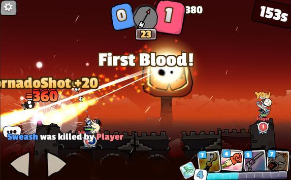 BBTank : Milk War apk screenshot