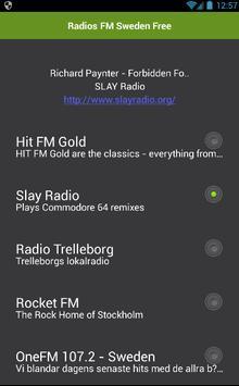 Radio Sweden Free apk screenshot