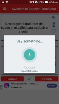 Swedish Spanish Translator screenshot 10