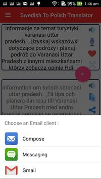 Swedish Polish Translator screenshot 15