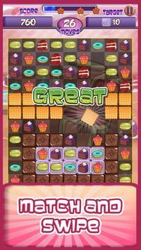 Cake Factory - Sweet Match 3 screenshot 2