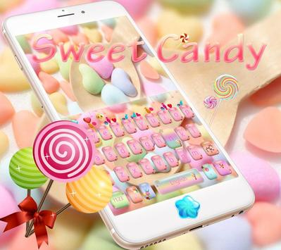 Candy Keyboard of Candy Land स्क्रीनशॉट 3