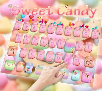 Candy Keyboard of Candy Land apk screenshot