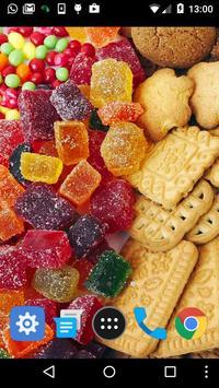 sweet foods wallpaper screenshot 1
