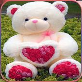 Cute Teddy Bear wallpapers icon