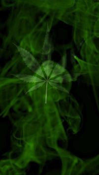 Marijuana Live Wallpaper  - Wispy Smoke FREE screenshot 1