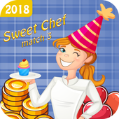 Sweet Chef match 3 icon