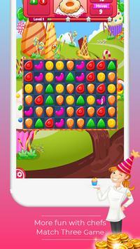 Sweet Chef match 3 screenshot 1
