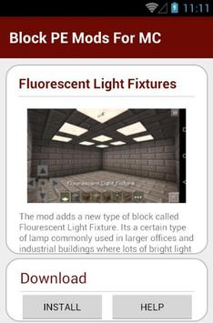 Block PE Mods For MC apk screenshot