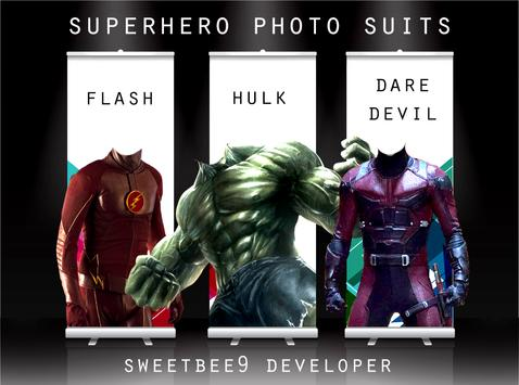 Super Hero Photo Suits NEW 2018 poster