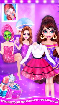 BFF Dolls : Beauty Contest Fashion Salon poster