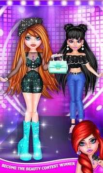 BFF Dolls : Beauty Contest Fashion Salon apk screenshot