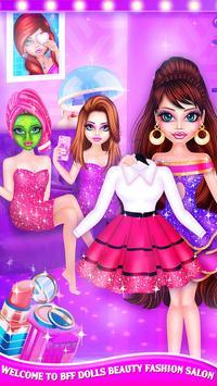 BFF Dolls : Beauty Contest Fashion Salon screenshot 8