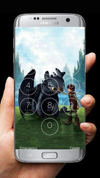 How to Train Your Dragon 2 Lock Screen poster