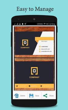 Vcard Maker apk screenshot